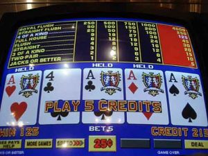 Jacks or Better Video Poker is the best strategy for Free Play money