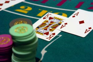 Match Play Coupons on Blackjack or other table games.
