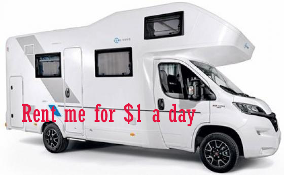 How to Road Trip with an RV Rental for $1 a Day [Covid-19 Vacation Ideas]
